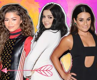 Zendaya, Lea Michele, Ariel Winter