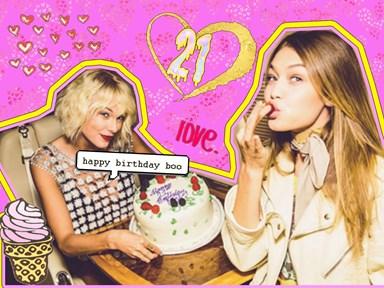 Taylor Swift and Zayn threw Gigi Hadid the best 21st birthday party ever