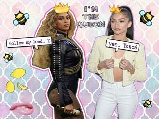 Zendaya, Beyonce