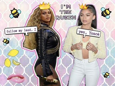 Watch Zendaya legit transform into Beyoncé before your very eyes