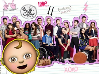 A 'Glee' star is having a baby!