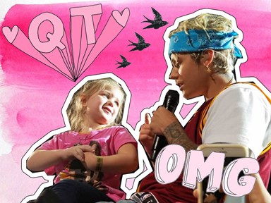 Justin Bieber serenades a 5-year-old girl and we are melting RN