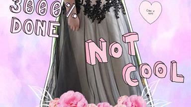 This girl's formal dress got her banned and we aren't about it