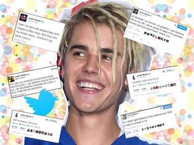 Justin Bieber has hit 80 million Twitter followers, so let's celebrate with his most retweeted tweet