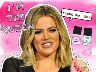 Khloé Kardashian's nail polish hack is actually pure genius