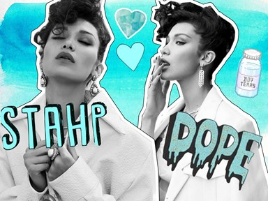 Bella Hadid just slayed the cover of Vogue