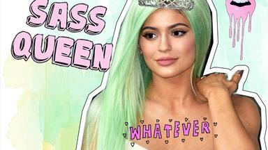 Kylie Jenner has made a ~fabulous~ declaration in her Glamour mag shoot