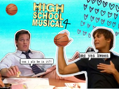 Coach Bolton is SO keen to be in HSM4, he's even re-auditioning for his role