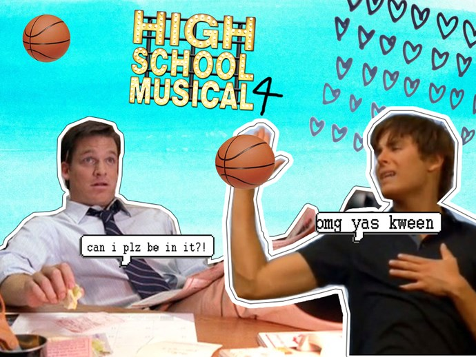 Coach Bolton High School Musical 4