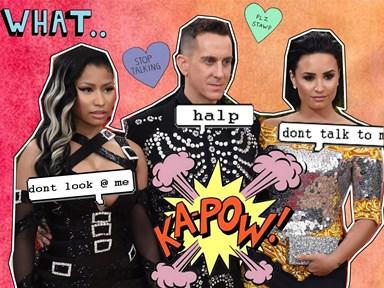 Demi Lovato is GOING OFF at Nicki Minaj on Instagram