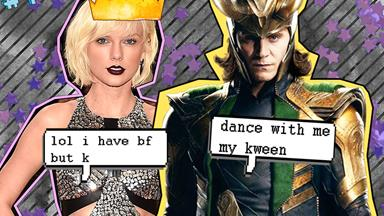 Taylor Swift and Loki had a dance off to Beyoncé at the Met Gala