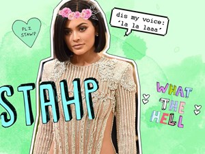 Kylie Jenner makes her singing debut and it is horrible