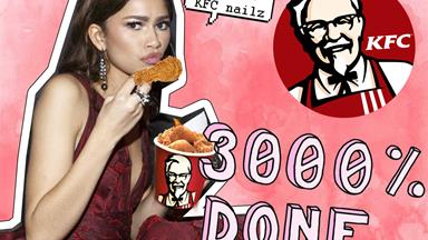 KFC has just taken 'finger lickin' good' to the next level with this nail polish line