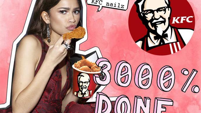 KFC, Zendaya