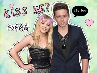 Brooklyn Beckham and Chloë Moretz are SO in love they wear matching clothes