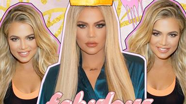 Khloé Kardashian explains why she photoshopped this gym selfie