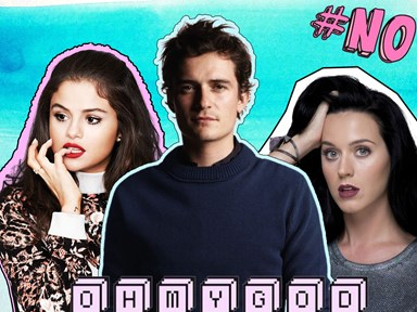 Selena Gomez and Orlando Bloom spotted kissing?!
