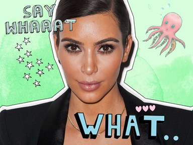 Kim Kardashian reveals the job she'd love to have if she wasn't ~famous~ as all heck