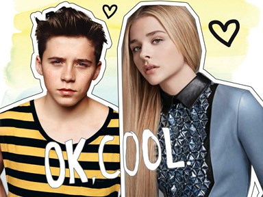 Chloë Moretz has admitted something pretty huge about her and Brooklyn on LIVE TV!