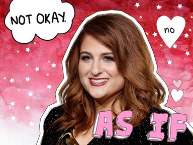 Meghan Trainor was photoshopped so much in her new music video she's almost unrecognisable