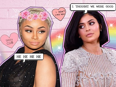 Blac Chyna's new emojis are 100% shading Kylie Jenner