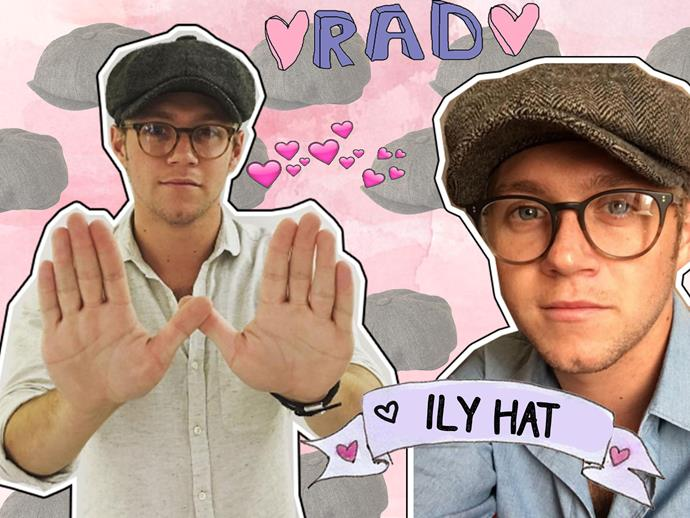 ALERT! Niall Horan has spotted with his grey, tweed hat