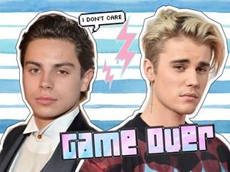 Jake T. Austin, Justin Bieber