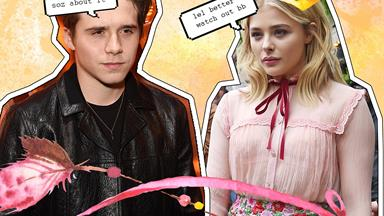 Chloë Grace Moretz found out Brooklyn's been texting someone on the sly