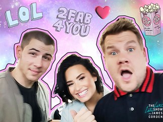 Nick Jonas, Demi Lovato, James Cordon Carpool Karaoke