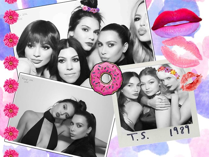 Kardashians, Taylor Swift, Kylie Jenner, Kendall Jenner, Gigi Hadid