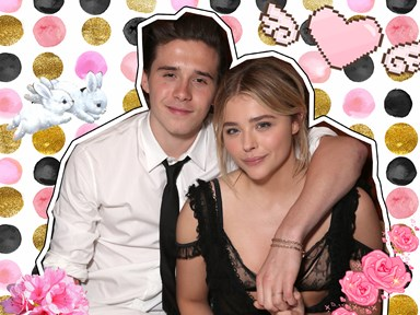 Chloë Moretz and Brooklyn Beckham first met at the most #average place ever
