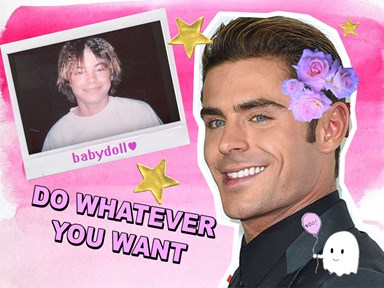 Zac Efron re-creates this epic #throwback crimped hairstyle and we just cannot