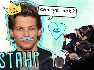 Here's what NOT to do when you meet Louis Tomlinson…