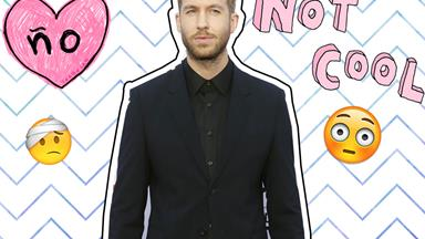 Calvin Harris has been involved in a serious car accident
