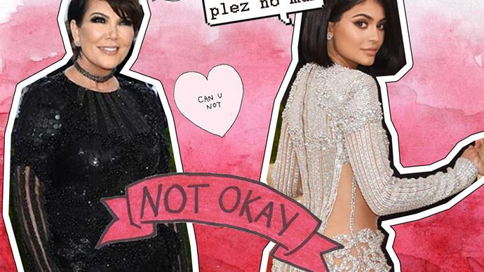 Kylie Kendall mean to Kris Jenner