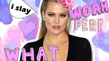 Khloé Kardashian has revealed a foundation hack that'll change your life