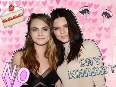 Cara Delevingne and Kendall Jenner are feuding over something pretty ridic