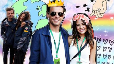Louis Tomlinson and Danielle Campbell are on the vacation of your dreams