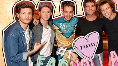 Simon Cowell has delivered the 1D news Directioners have been waiting for…