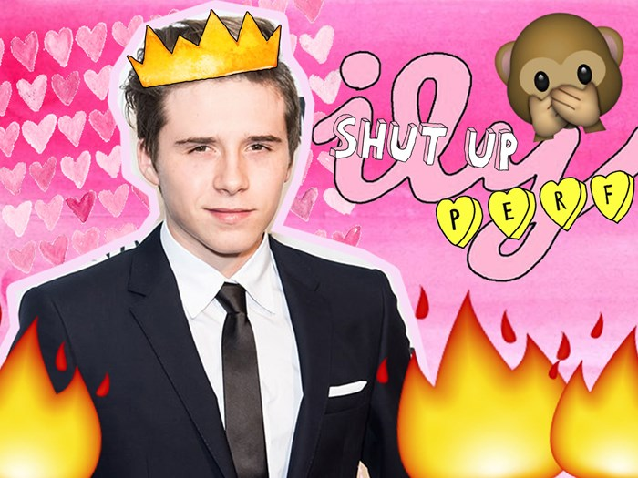 Brooklyn Beckham posted the HOTTEST selfie of all time… then deleted it