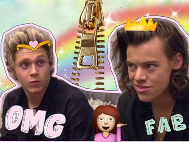 Niall Horan reacting to Harry Styles' acting career is literally you