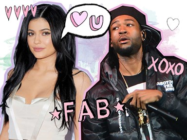 Kylie Jenner and PartyNextDoor were all over each other at Drake's wild bash