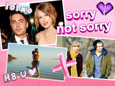 A chronological timeline of Taylor's #failed relationships and all her epic revenge songs