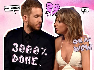 Taylor Swift and Calvin Harris FINALLY comment about the break up