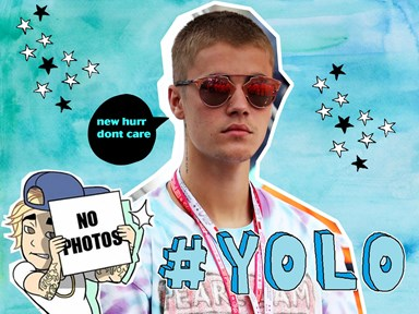 Justin Bieber has totally changed his hair... again