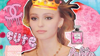 Lily-Rose Depp wore the most amazing dress to formal