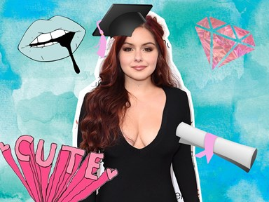 Ariel Winter graduates from high school in TWO amazing dresses