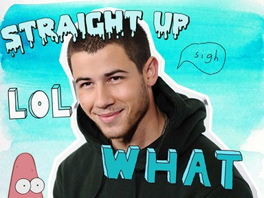 Nick Jonas remembers the time he got a NARB on the red carpet and prepare to LOL