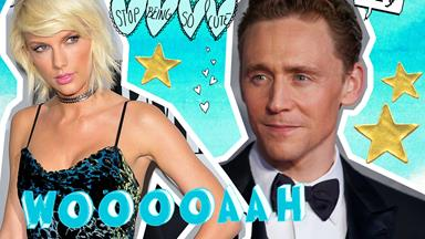 Here's Tom Hiddleston gushing HARD about Taylor Swift