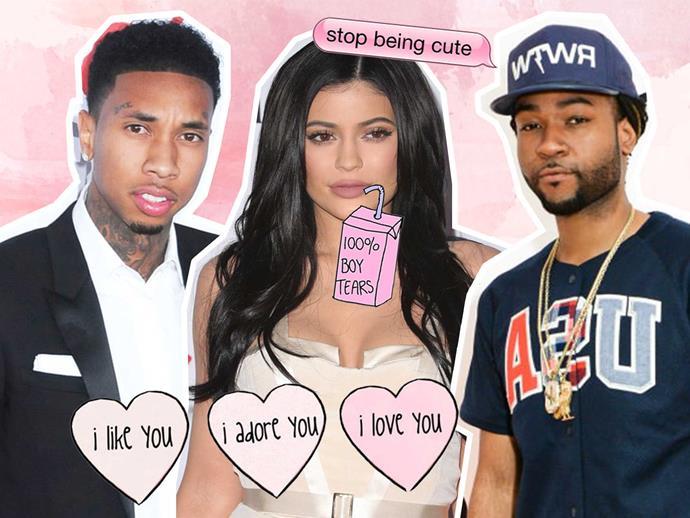Kylie Jenner, Tyga, Party Next Door